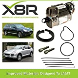 X8R PISTON RING REPAIR KIT FOR WABCO AIR SUSPENSION COMPRESSOR TYPE COMPATIBLE WITH PORSCHE CAYENNE 2002-2010 PRODUCTION WITH WABCO AIR SUSPENSION COMPRESSOR PART# X8R45