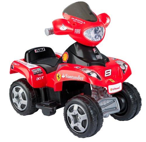 FEBER- Quad Ferrari, Colore Rosso, Norme, 800006762