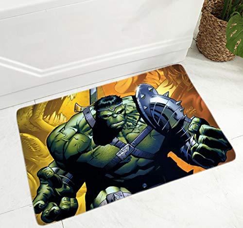 juan Alfombra Sala De Estar Dormitorio Habitación De Los Niños Dibujos Animados Hulk Alfombras De Anime Patrón De Corredor Antideslizante Familia Niño Niña Área De Estar Felpudo 160Cm * 270Cm