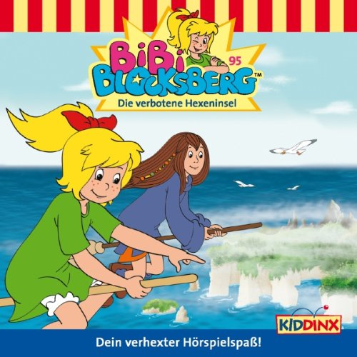Die Verbotene Hexeninsel (Bibi Blocksberg 95) audiobook cover art