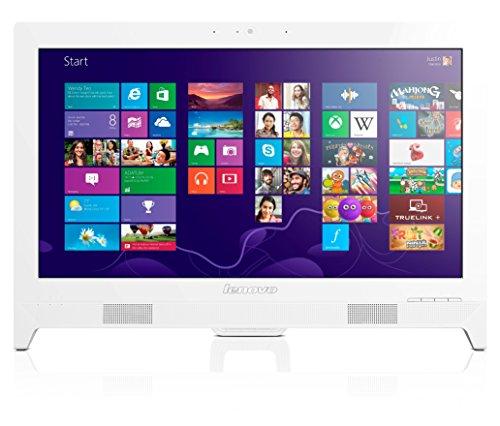 Lenovo C260 Ordinateur de Bureau Tout-en-Un Non Tactile 19  (48,26 cm) Blanc (Intel Celeron, 4 Go de RAM, 500 Go, Intel HD Graphics)