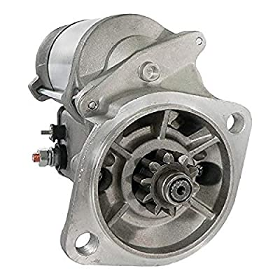 DB Electrical SND0408 Starter Compatible With/Replacement For Bobcat Compact Excavator 325 328 329 331 334 335 337 341 E25 E26 E32 E35 E42 E45 E50 E55 S100 / D1703E2B D1703B V2203EB V2003TEB V1505