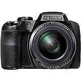 Fujifilm FinePix S9900W - Cámara compacta de 16.2 MP (Pantalla de 3', Zoom óptico 50x, estabilizador óptico), Negro