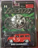 Lexani Die Cast Metal 1:64 Scale H2 Hummer White by