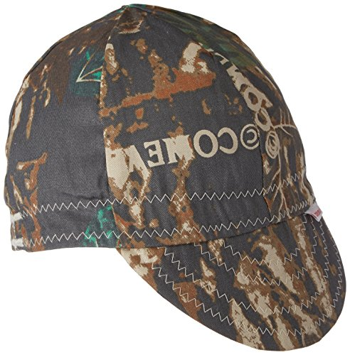 "Comeaux Caps 118-2000-C-7-5/8 Deep Round Crown Caps, 7 5/8"", Camouflage"