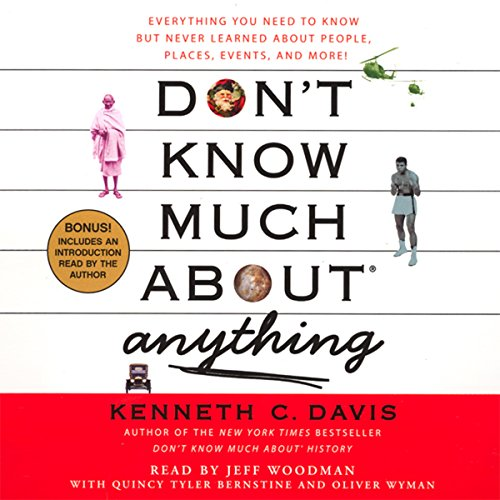 Don't Know Much About Anything audiobook cover art