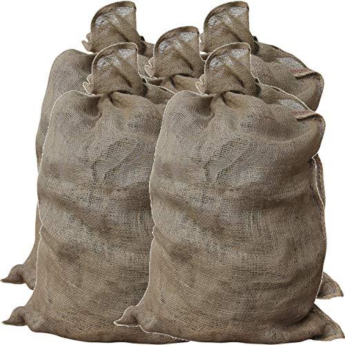 GardenMate 5 sacchi di iuta universali 105 cm x 60 cm in iuta da 200 g/m²
