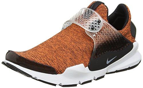 Nike Sock Dart SE Men's Running Shoes Terra Orange/White-Black-White 911404-801 (10 D(M) US)
