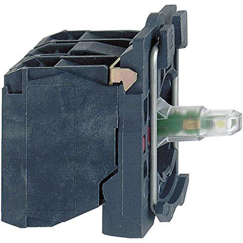 Schneider elec pic - mss 41 15 - Cuerpo diámetro 22 24v 1na led azul tornillo embellecedor plastico