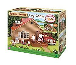 The log cabin where Sylvanians enjoy their holidays Includes two hammocks Well-made with fine attention to detail Stimulating imaginative role-play in children Suitable for ages 3 years to 10 years