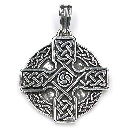Keltenkreuz Silber Schmuck Anhänger keltisches Kreuz keltischer Silberschmuck Damen Herren