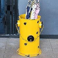 YGCBL 傘立て、傘バケツホームホールバー傘収納ラック31Cm×45.5Cm丸型、傘ラック,黄