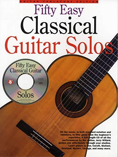 50 Easy Classical Guitar Solos