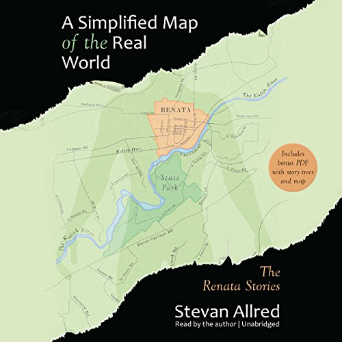 A Simplified Map of the Real World audiobook cover art