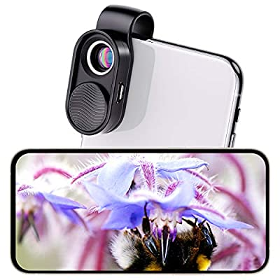 100X Pocket Microscope, HD Optical Lens Wireless Digital Microscope Camera for IPad/Laptop, Easy to Carry Handheld Microscope Phone Microscope, Mini Microscope for Adults and Kids for Microworld