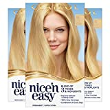 Clairol Nice'n Easy Permanent Hair Color, 10 Extra Light Blonde, Pack...