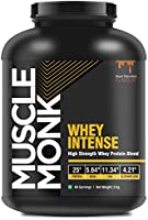 MuscleMonk WHEY INTENSE with Whey Protein Concentrate, Whey Protein Isolate and Hydrolyzed Whey Peptide