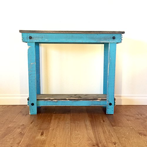 Rustic Handcrafted Reclaimed Console Table