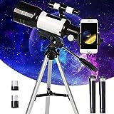 PEALOV Telescopio Astronomico,Telescopio Rifrattore Portatile, Binocolo Singolo Professionale Per...