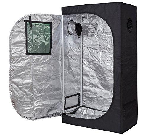 TopoLite 24'x24'x48' Indoor Grow Tent Hydroponic Growing Dark Room Green Box with Viewing Window