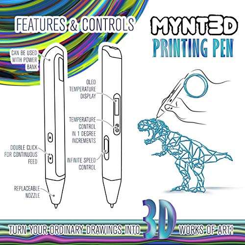 Product Image 6: MYNT3D Professional Printing 3D Pen with OLED Display