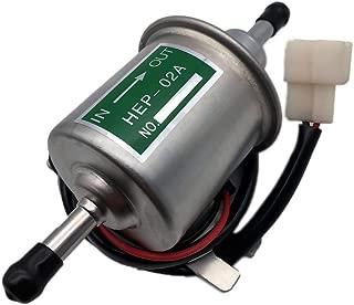 Aokus 12V Electric Fuel Pump FOR Kubota, Bobcat 16851-52033 for D1105, V1505, V2607