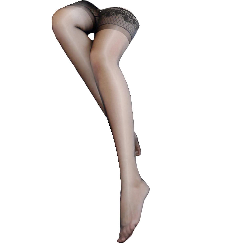 倾城の恋 ストッキング レディース下着 レース セクシー 滑り止め 13D裸アンモニアバッグ芯の糸 3色選択可 白/黒/肌色