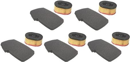 The ROP Shop (5) New AIR Filter Set/KIT Partner K650 / K700 Active II & III Concrete Saws