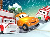 【Christmas】Amber can't start her engine / Sam the Snow Plow falls onto his side / The candy car /The little pink car