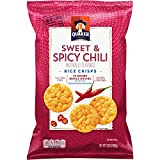 Quaker Rice Crisps, Gluten Free, Sweet & Spicy Chili, 3.03oz Bags, 12 Count