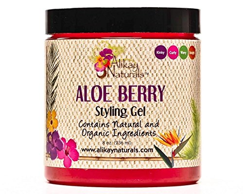 Alikay Naturals Aloe Berry Style Gel, 8 Ounce