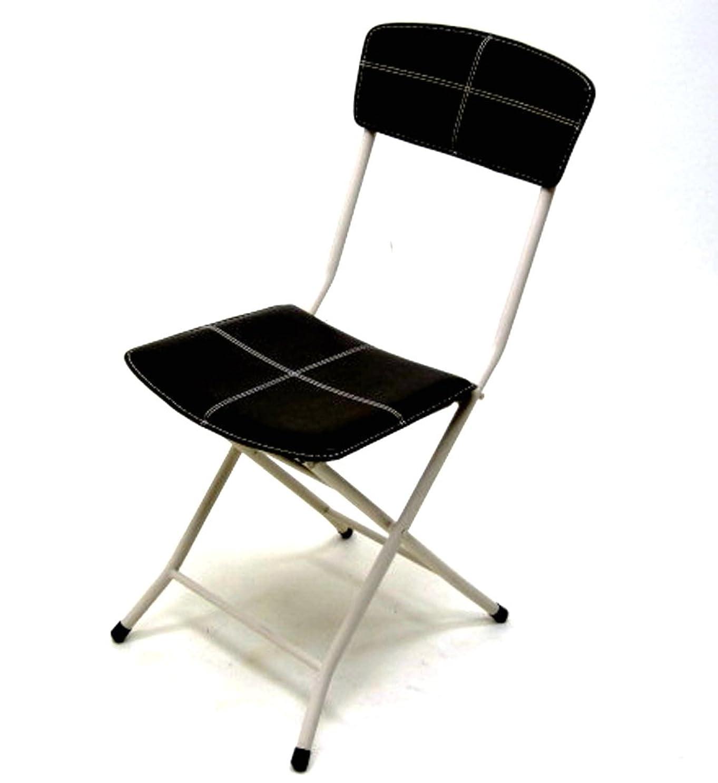 暖かさ栄養看板武田コーポレーション 【折りたたみ椅子?パイプ椅子?レザーチェアー?チェア?キッチンチェア】 レザー 折りたたみチェアー ブラウン ROT-85BR