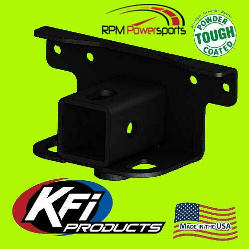 KFI Rear 2' Receiver Hitch for 2007-2019 Compatible with Yamaha Grizzly 700 / Compatible with Kodiak 700
