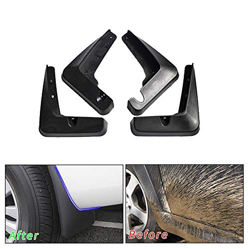 Muchkey no dril car mud Flaps for Lexus RX RX270 RX300 RX350 RX450H 2010-2015 Sedan Splash Front and Rear Guards 4pcs/Set