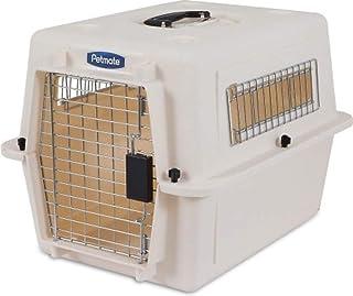 بيت الكلب ألترا فاري من بيتميت، شديد التحمل، لا يحتاج إلى أدوات تجميع، 4 مقاسات، رمادي داكن/أسود