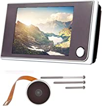 Digitale deurspion, deurspion, met LCD-scherm, 3,5 inch (3,5 cm), groothoektracker, 120 graden