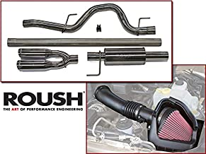 2011-2014 F-150 6.2L V8 Roush Exhaust & Cold Air Intake Combo Kit