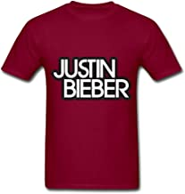 Hot Justin Bieber Logo O Neck T Shirt For Men