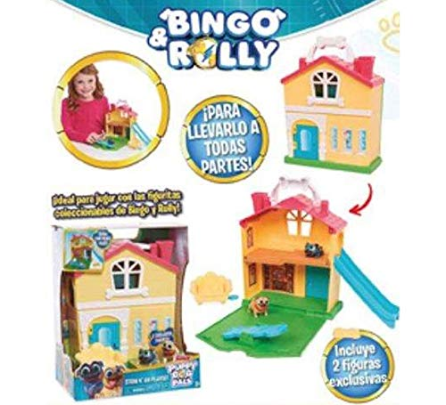 Giochi Preziosi- Bingo y Rolly playset Stow go (PUY11000)
