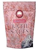 Sal de baño del Himalaya Epsom cristal 450 g de sulfato de magnesio natural relajante