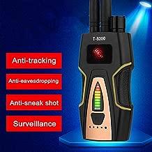 Pengxuehuang Anti Spy Detector, Bug Detector RF Signal Detector Wireless Signal Anti-Monitoring Anti-Positioning Anti-Sneak Detectors Home/Hotel Private Safetey Micro Camera Finder
