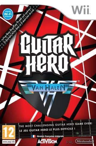 Guitar Hero Van Halen (Solus) (Nordic) /Wii