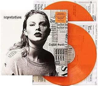 taylor swift reputation orange