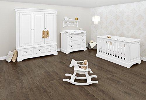 Pinolino 103467BG Kinderzimmer 'Emilia' breit groß, weiß