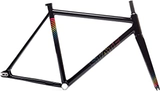 The Undefeated II - Black Prism Edition Frame & Fork Set 52cm
