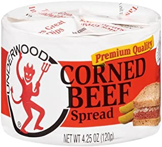 Underwood Corned Beef Spread 4.25 Ounce (Pack of 4)