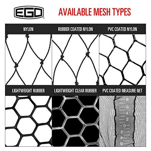 "EGO S2 Slider Handles, Fishing Net Extension, Multiple Sizes, Neoprene Foam Grip, 6"" Lock Intervals, Works with S1& S2 Nets + Accessories"