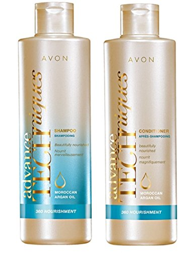 Avon ADVANCE Techniques Shampoo und Pflegespülung mit Marokkanischem Arganöl je 250 ml