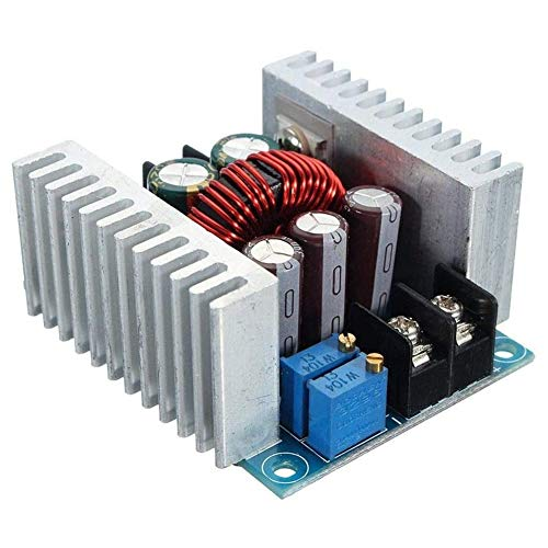 DC-DC Converter Module, 300W, 20A, DC-DC Step Dowm Module, Tension réglable 6 40V à 1,2 36V Tension d'alimentation Réducteur,Argent