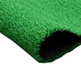 YNFNGXU Gazon Artificiel for Gazon Artificiel intérieur/extérieur, Faux Tapis de Plantation de 15 mm de Hauteur, Vert Imitation, (1M * 2M) (Size : 2x4m)